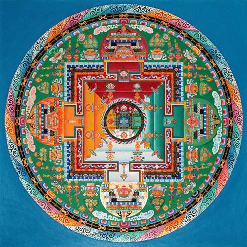 Tibetan mandala meaning the sacred circles for State of the art meaning