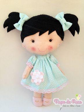 Moldes para hacer muñecas de fieltro04                                                                                                                                                                                 Más