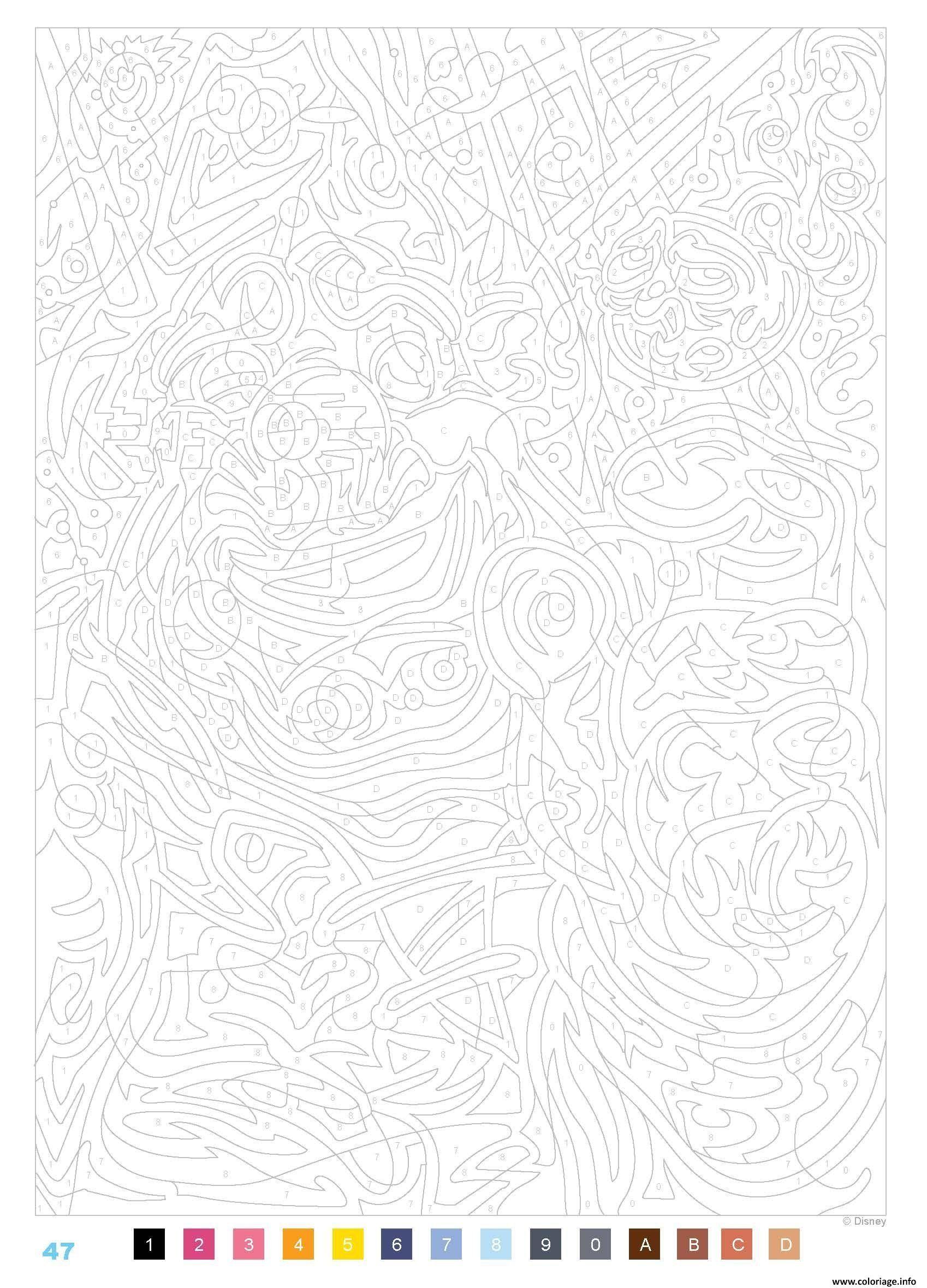 17 idées de Coloriage mystere disney en 17  coloriage mystere