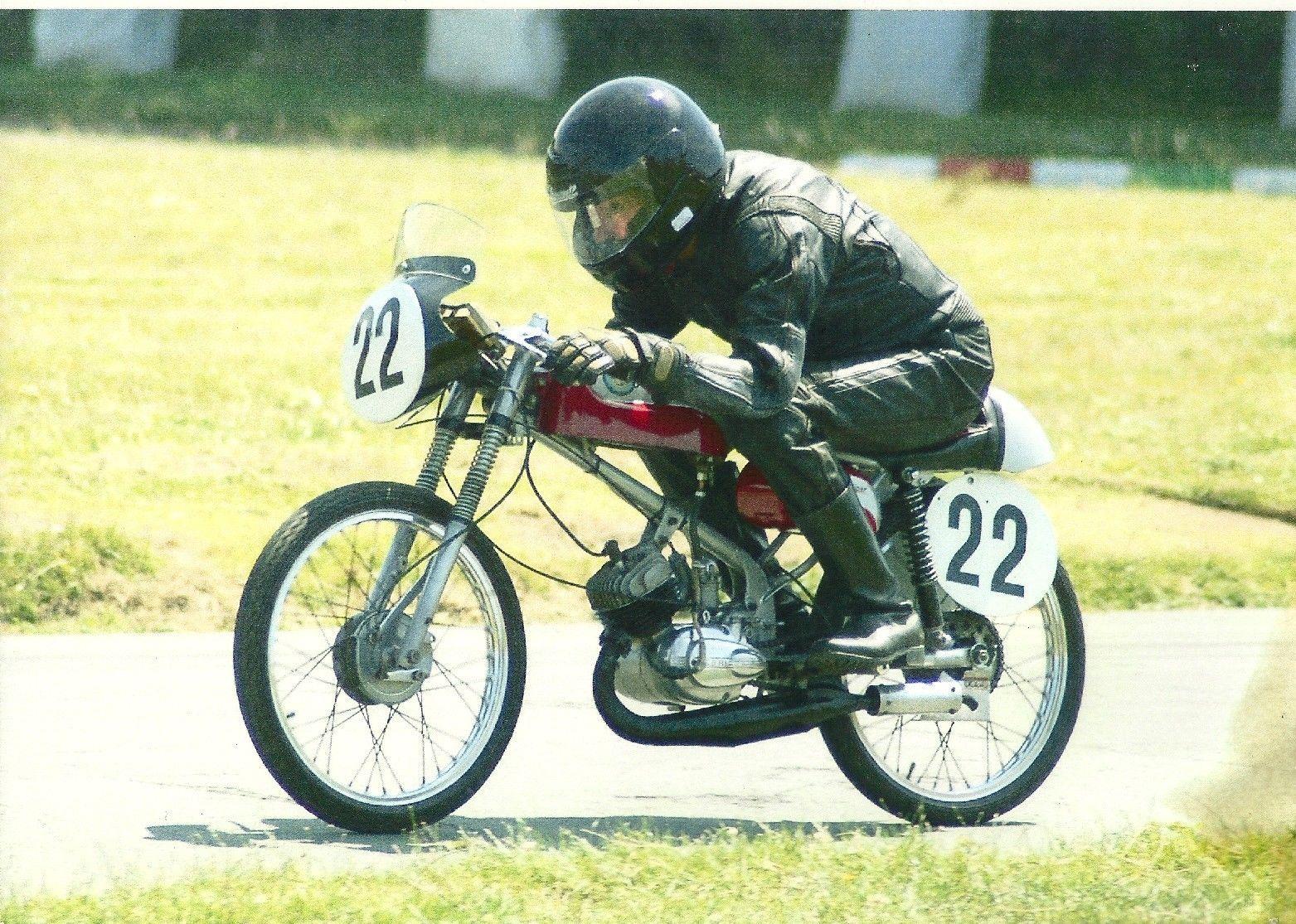 Derbi Gran Sport Classic 50cc Racing Motorcycle Picture