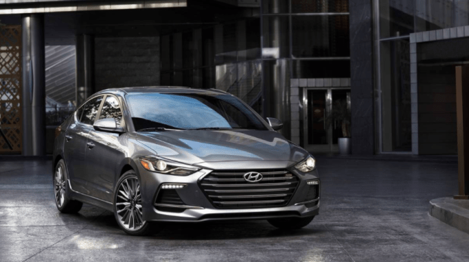 The Hyundai Elantra Sport Has A 1 6 Liter Turbo And Can Come With A Manual Six Speed That Is Refreshingly Crisp And Smooth With Images Hyundai Elantra Hyundai Elantra