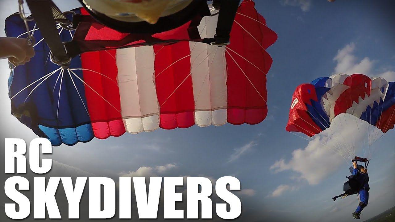 Flite Test Rc Skydivers Parachute Drop Parachute Drop New Friends