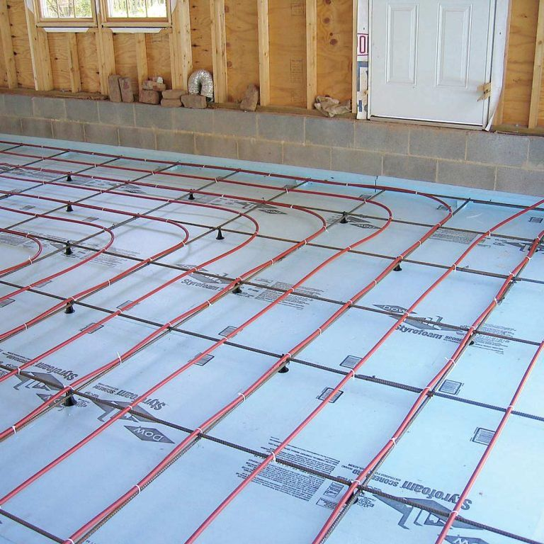 12 Best Ways To Heat A Garage In The Winter Garage Shop Plans Heated Floors Garage Decor