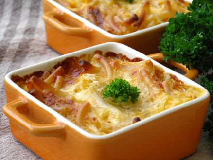 mac and cheese mini casseroles