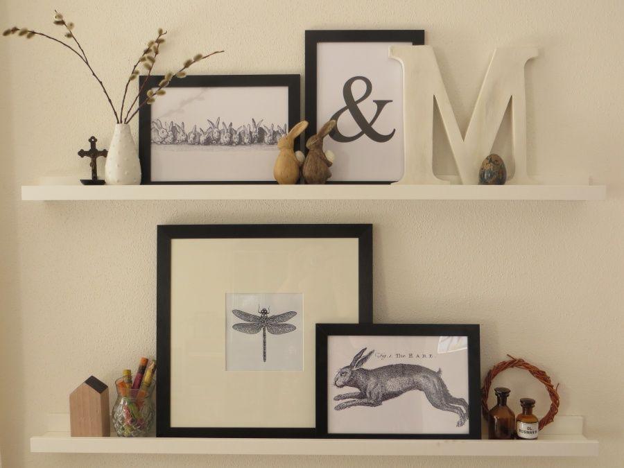 ostern auf der bilderleiste schwarz wei braun und schwarzer. Black Bedroom Furniture Sets. Home Design Ideas
