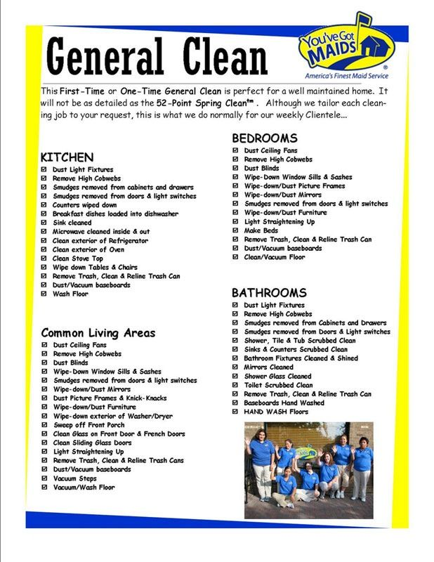 Cleaning Checklist Cleaning And Organizing Pinterest Cleaning - Bathroom cleaning business
