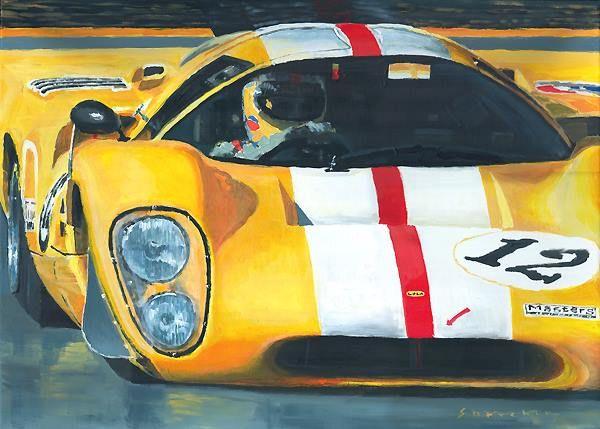 Lola T70 Mkiiib 1969 1970 Sebring Le Mans