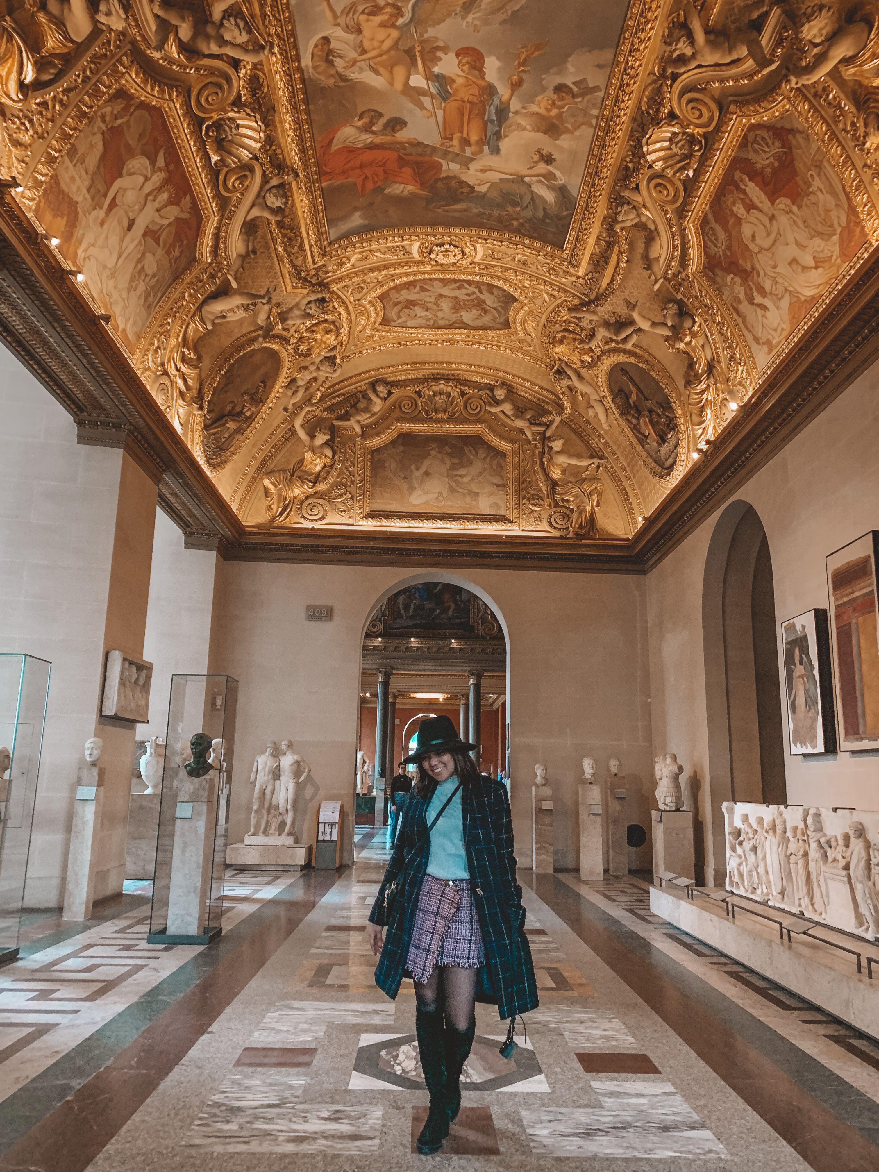 Inside Louvre Museum Louvre Museum Louvre Museum