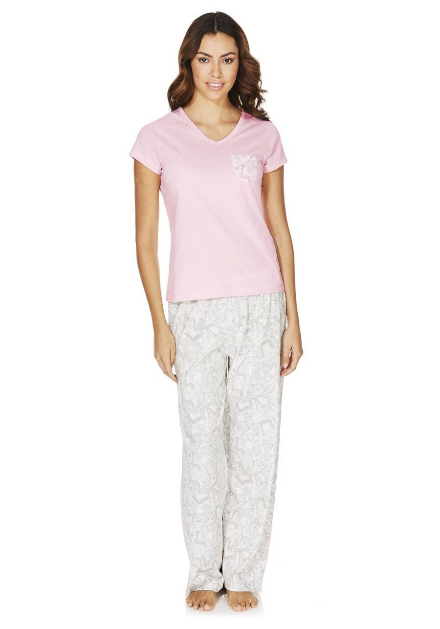 hot-selling half price genuine shoes Clothing at Tesco | F&F Butterfly Print Pyjamas > nightwear ...