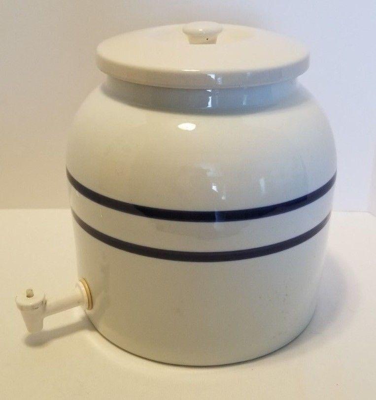 Vintage Pottery Drink Dispenser Vintage Pottery Drink Dispenser Pottery