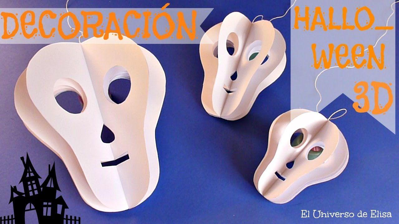Decoraci n para halloween d a de los muertos calavera 3d - Decoracion de halloween ...