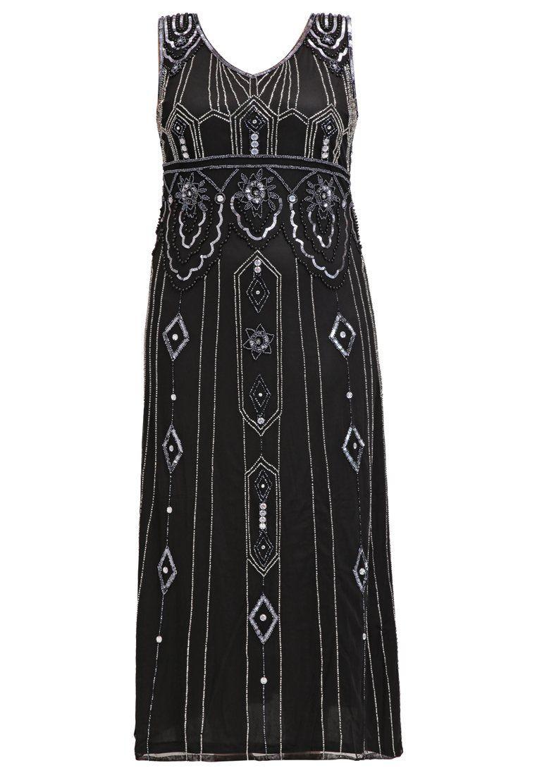 9302796549 Lipsy Sukienka koktajlowa - black nude - Zalando.pl