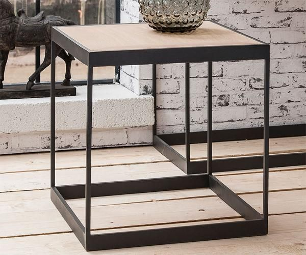 Gallery Hudson Living Brunel Side Table in French Wild Oak and Cast Metal - See more at: https://www.trendy-products.co.uk/product.php/8710/gallery_hudson_living_brunel_side_table_in_french_wild_oak_and_cast_metal_#sthash.TG8BKo28.dpuf