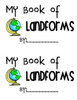 My Book Of Landforms Mountain Hill Valley Plain