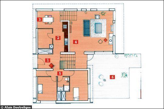 Resultat De Recherche D Images Pour Plan De Maison Sur 150 M2 De