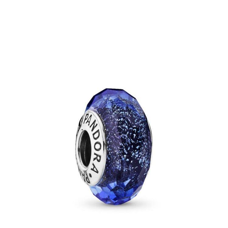 charm pandora blu