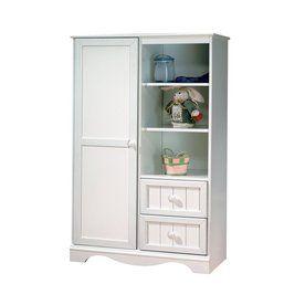 South Shore Furniture Savannah Pure White Armoire 3580038