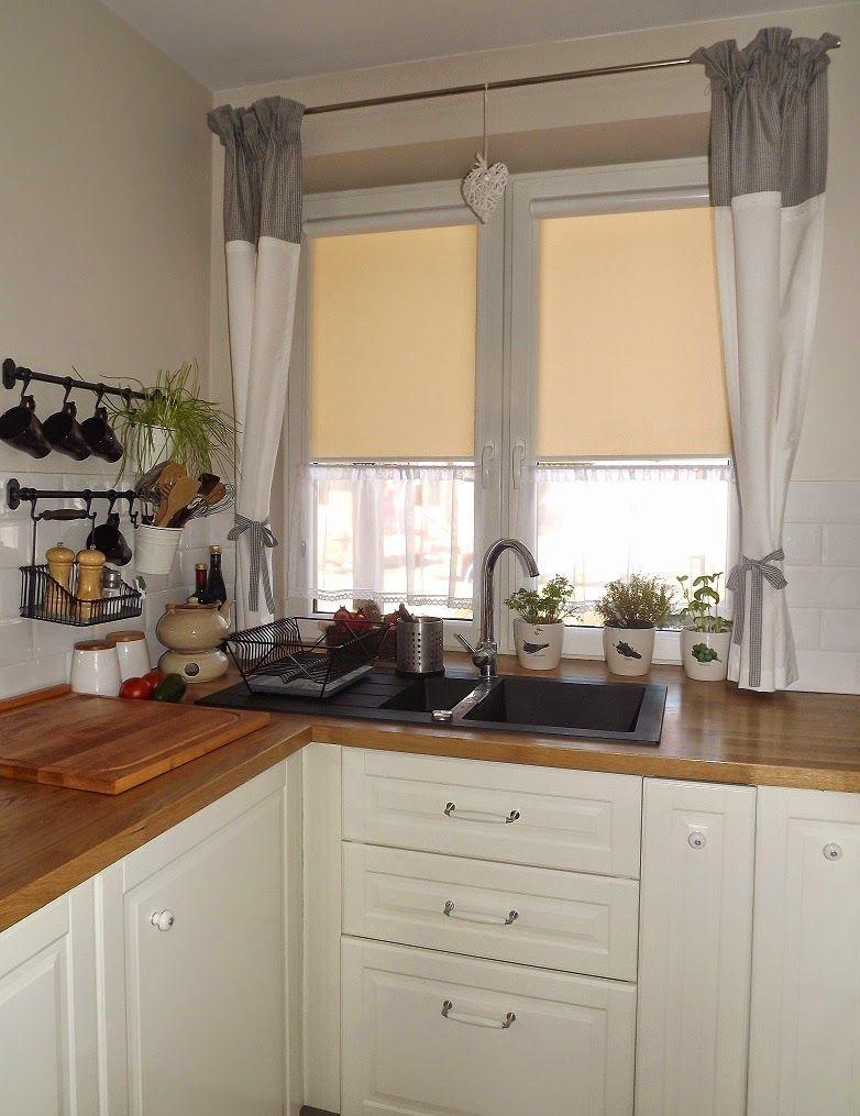 Küchenideen ziegel firanki do kuchni  szukaj w google  firany  pinterest  vorhänge