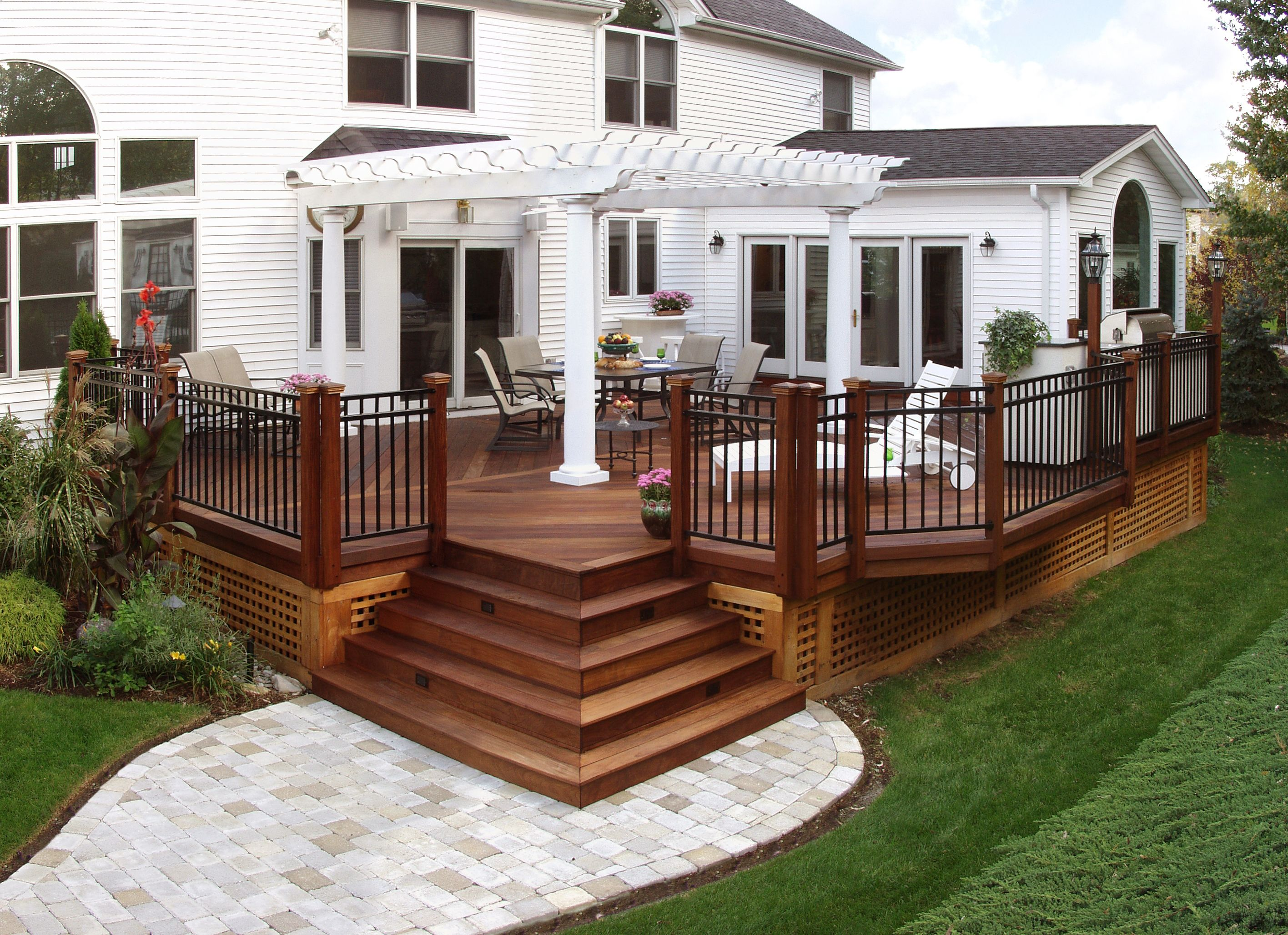 Pergola Enclosure Ideas My Blog