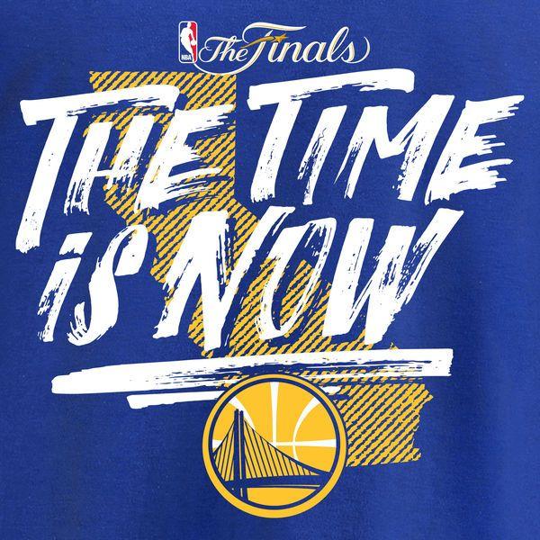 c636cc87ac8 Golden State Warriors Fanatics Branded 2017 NBA Finals Bound Team T-Shirt -  Royal