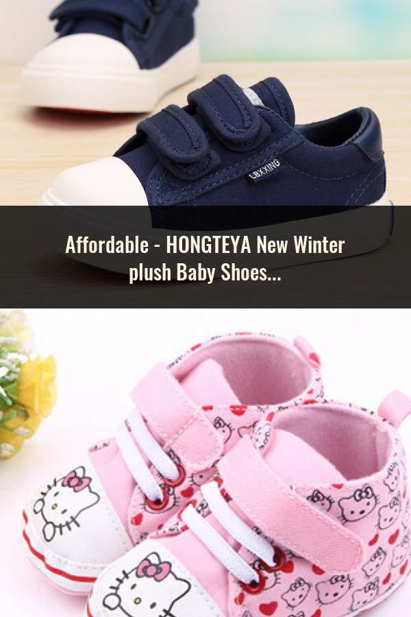 f8ac8fb68 HONGTEYA New Winter plush Baby Shoes Boots Infants Warm Shoes Fur Wool  Girls Baby Booties Sheepskin Genuine Leather Boy Boots