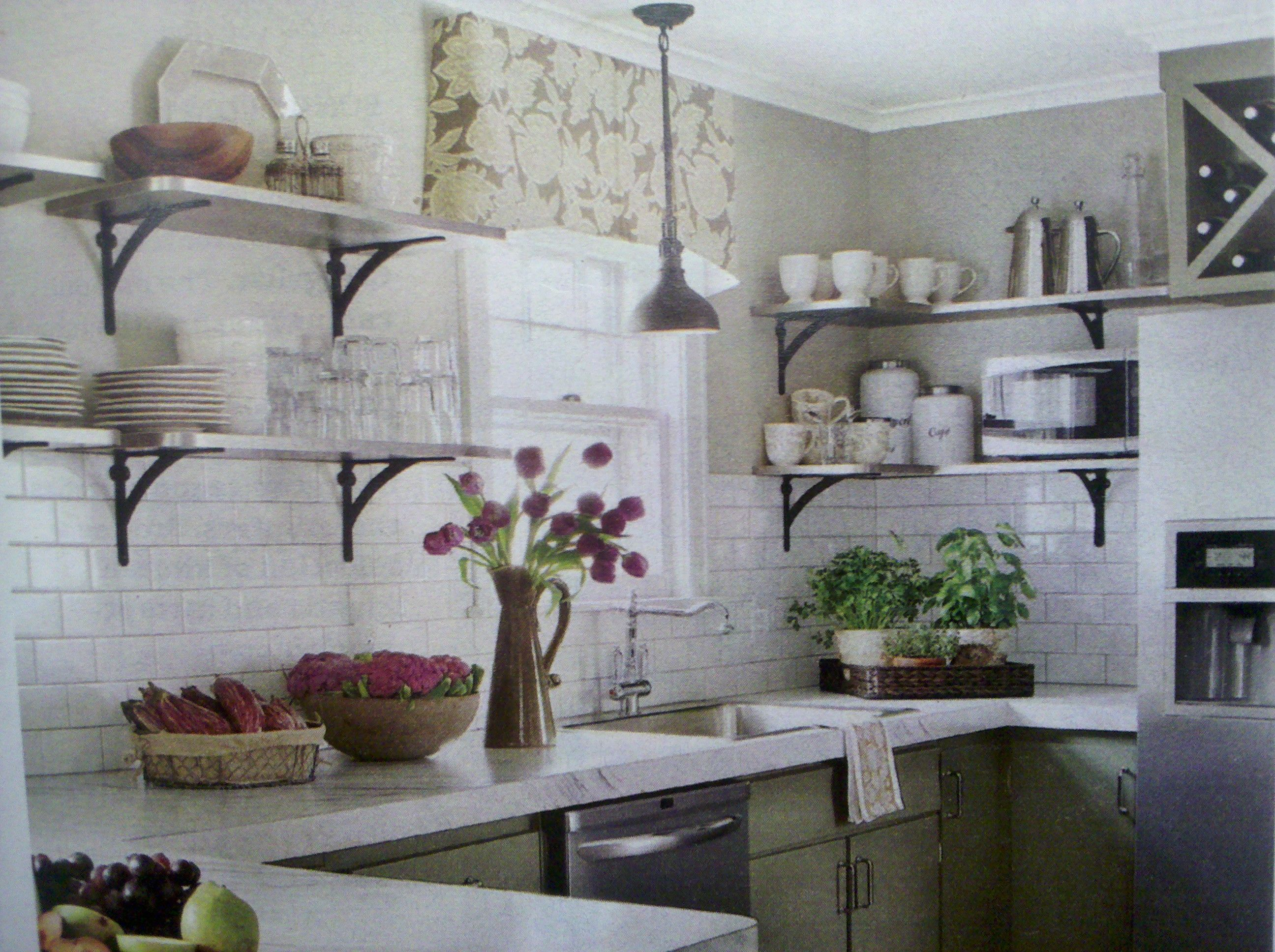 love the open shelves instead of cabinets these would on kitchen shelves instead of cabinets id=71694