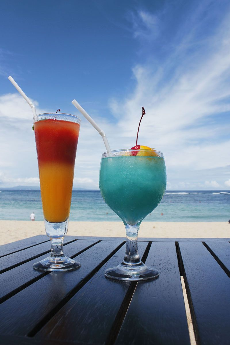 Signature Cocktails From The Beach Bar Ayodya Resort Bali Nusa Voucher Hotel Deluxe Bed An Breakfast Dua Indonesia