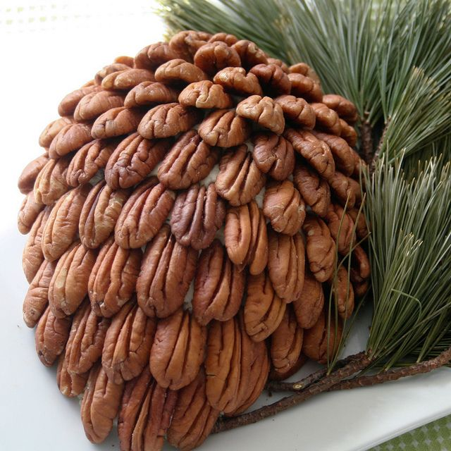 Cream Cheese Pine Cone, by The Healthy Foodie