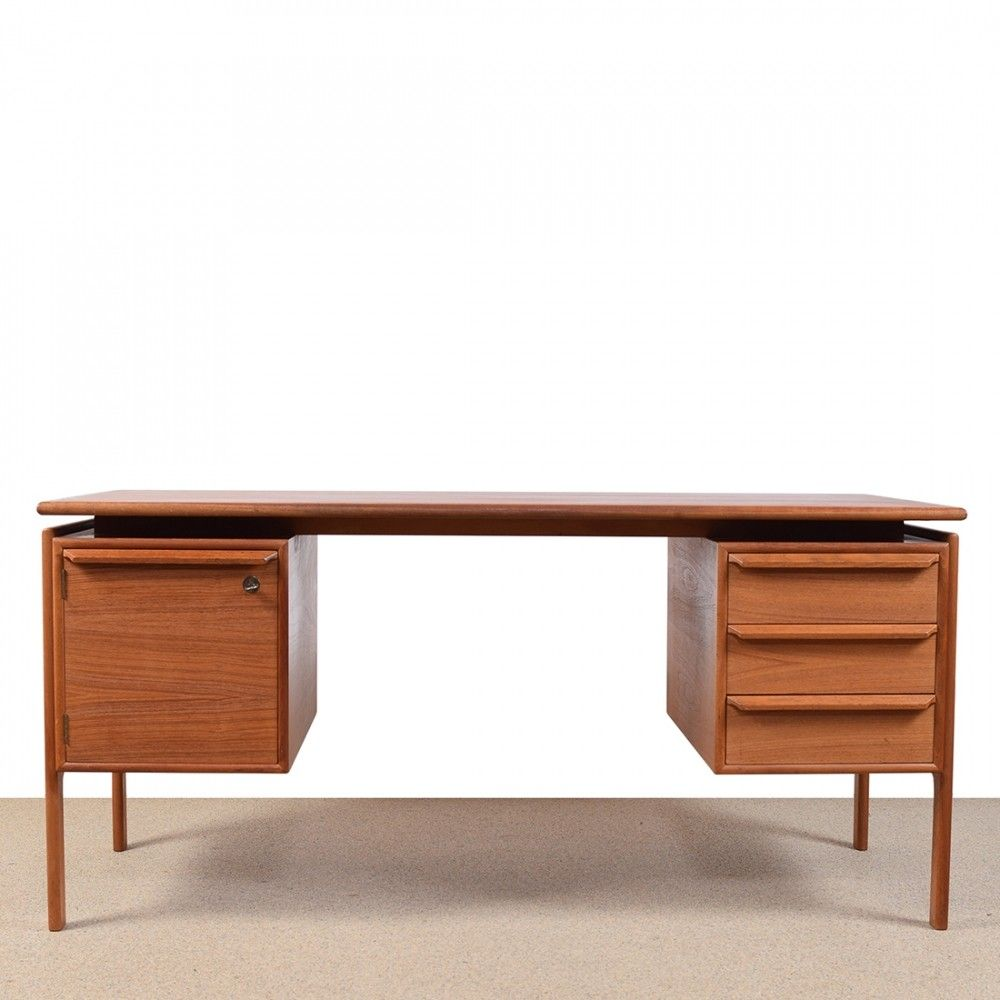 desk danish torquay living vodder century in p arne other teak dining furniture mid sibast