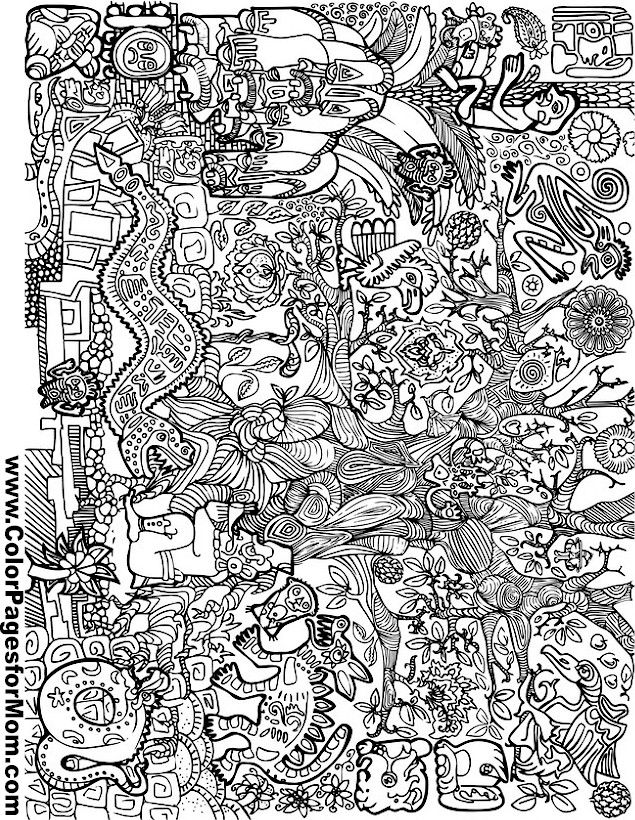 Asian Coloring Page 31 Coloring Pages Coloring Books Dover Coloring Pages