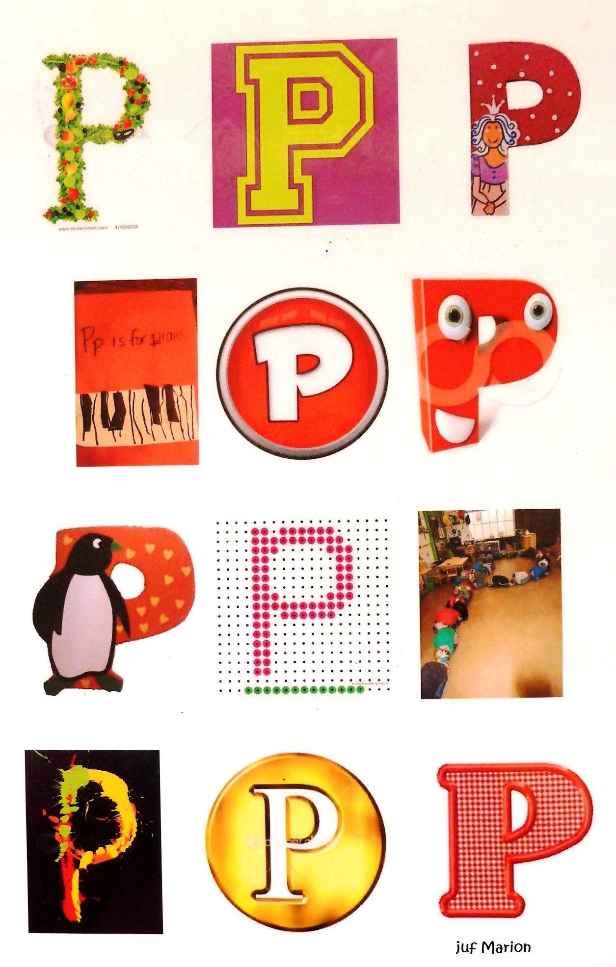 Letter P/p