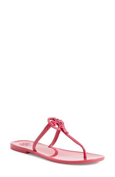 079f149030e464 Tory Burch Jelly Thong Sandal (Women) available at  Nordstrom Jelly Flip  Flops