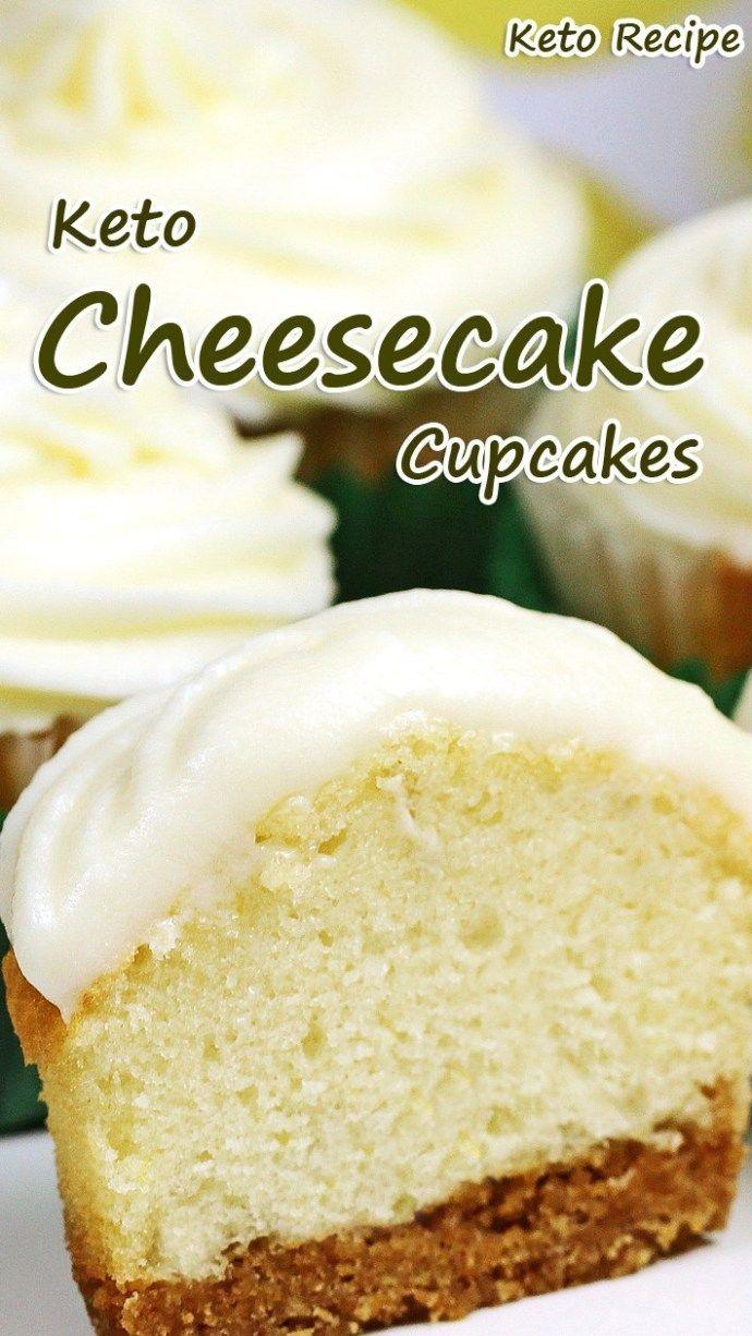 Keto Cheesecake Cupcakes - #Cheesecake #Cupcakes #Keto #rezepte #cheesecakecupcakes