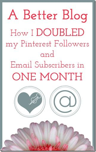 How I Doubled my Pinterest Followers & Email Subscribers in One Month | The Bold Abode <-- interesting case study of the power of intentional design