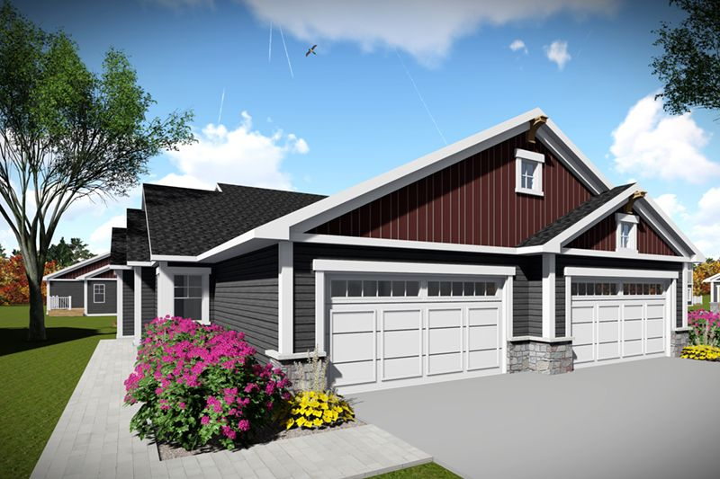 From Houseplansandmore Com Ranch Style House Plans House Plans Duplex House Plans