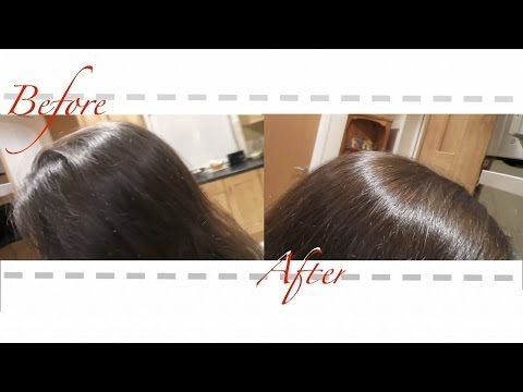 Henna Rouge Hair Dye On Dark Brown Hair Lush Youtube Dyed Hair Dark Brown Hair Henna Hair Dyes