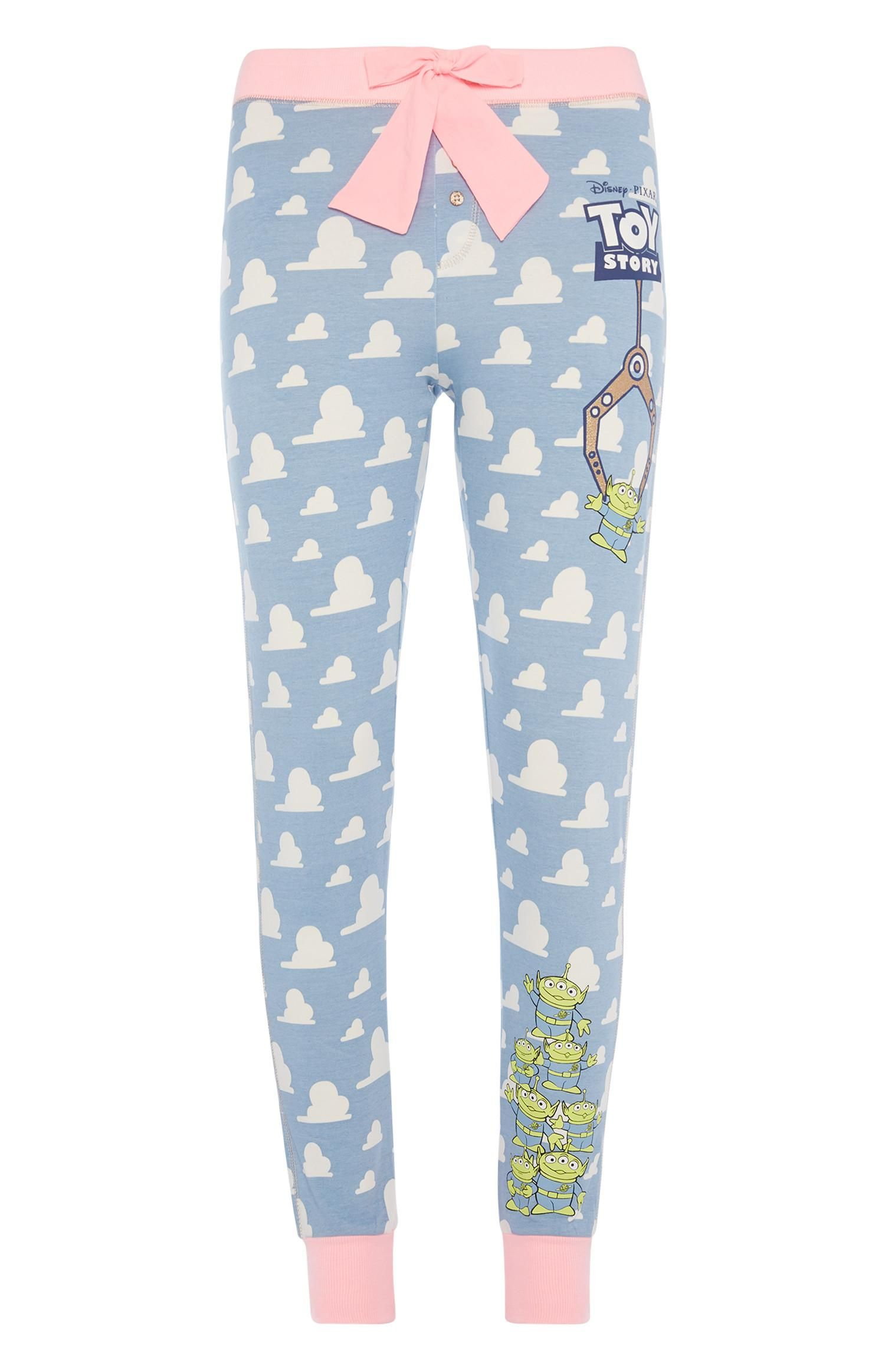 PRIMARK DISNEY Ladies Girls TOY STORY and Lion King Pyjama Crop Vest Shirt Top