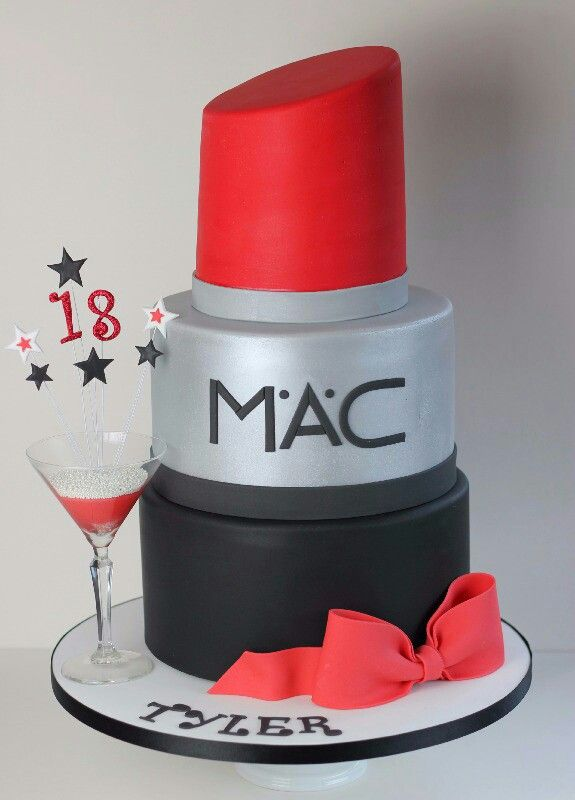 Mac Lipstick Cake Recipes