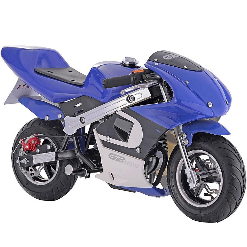 Mototec Gbmoto 40Cc 4Stroke GasPowered Pocket Bike In