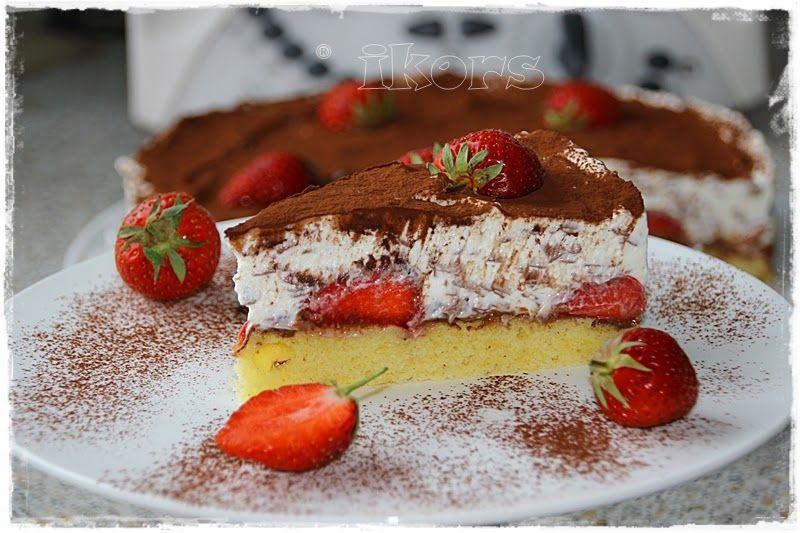 Kochen Meine Leidenschaft Erdbeer Schoko Split Torte Thermomix