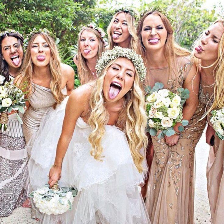 Bride And Groom Only Wedding Ideas: Резултат с изображение за 3 Bridesmaids