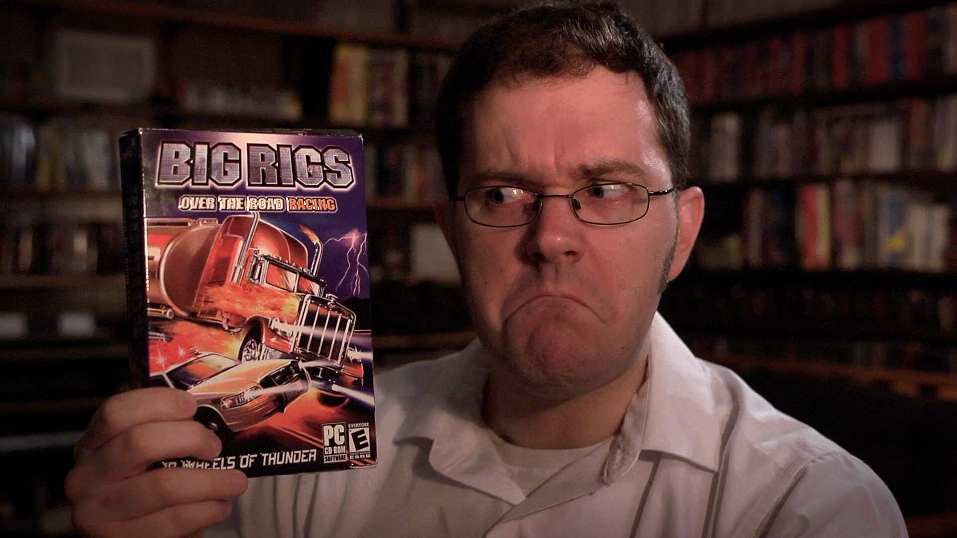 Big Rigs Over The Road Racing Angry Video Game Nerd Video Games