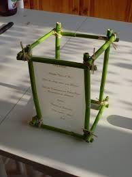 Manualidades Con Bambu Faciles