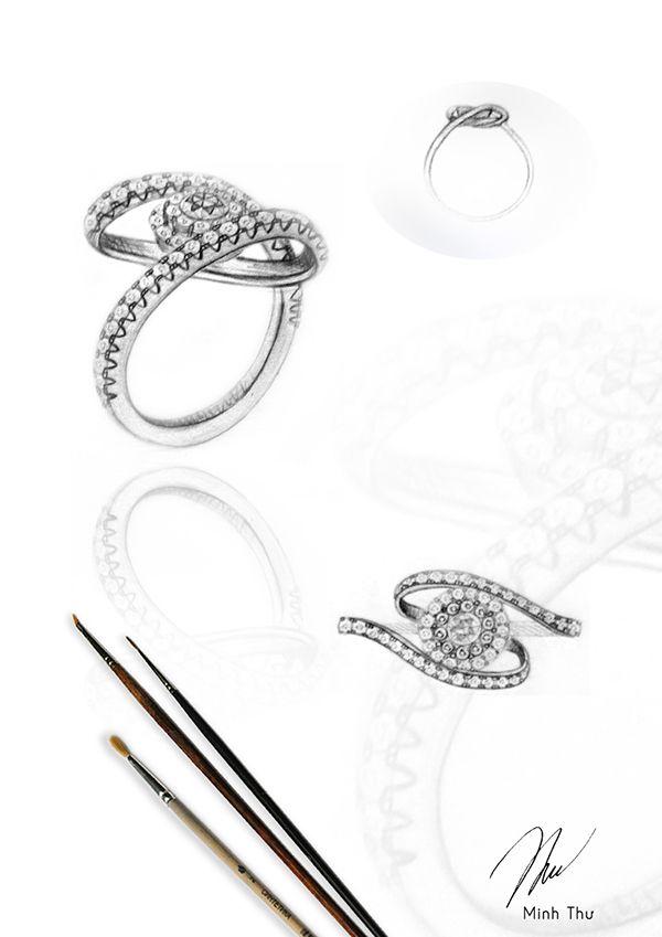 Portfolio jewelry on Behance Pinterest Behance Jewellery