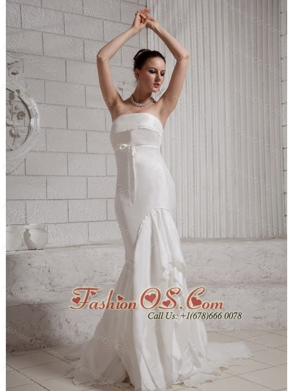 Unique Mermaid Layers Wedding Dress For Custom Made http://www ...