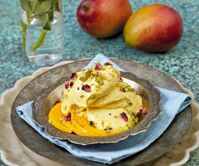 Mango Kulfi   Rezept   Rezepte, Dessert ideen, Cookidoo