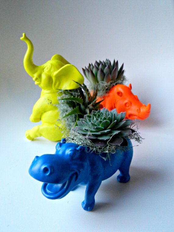 animal planter 4