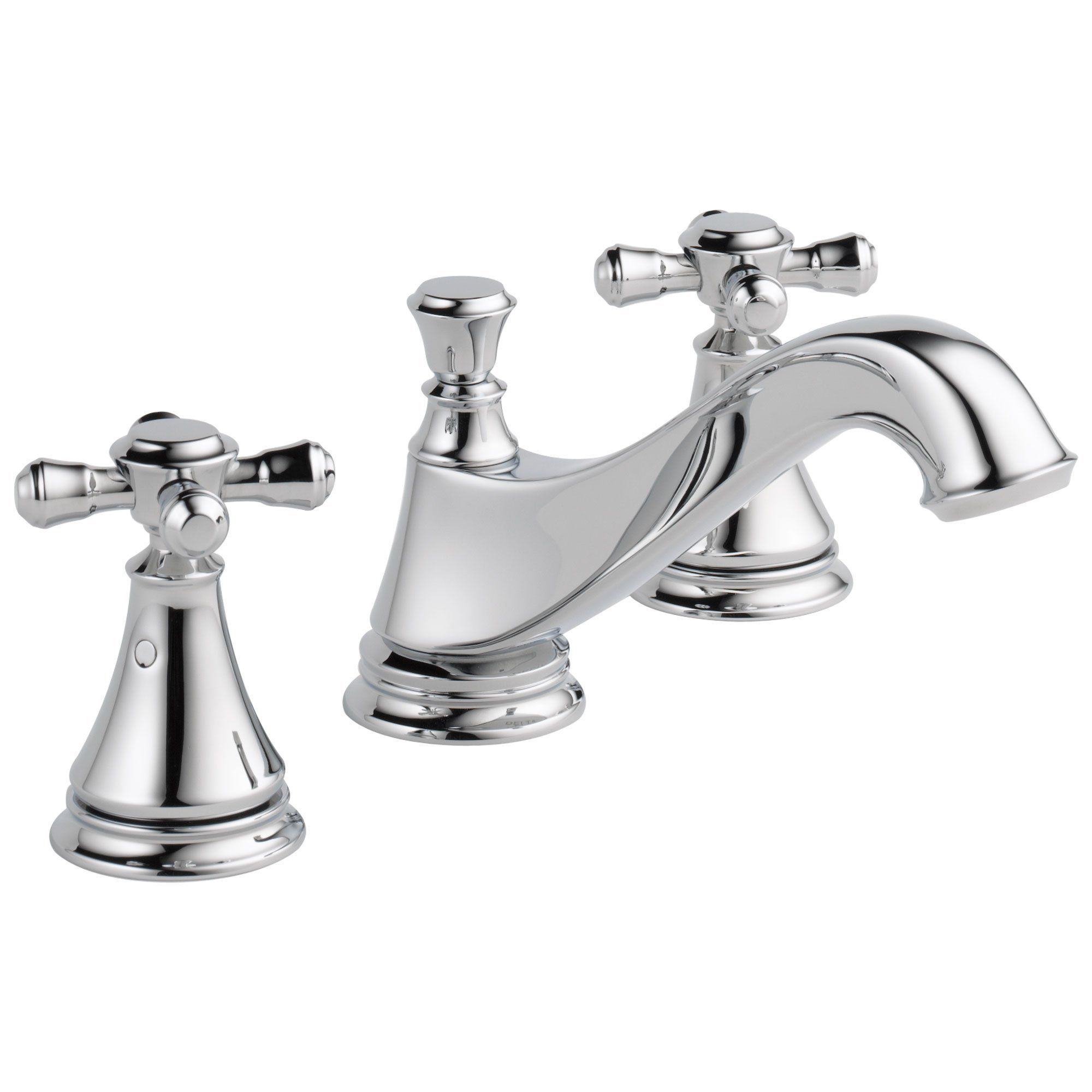 Delta Cassidy Collection Chrome Finish Traditional Low Spout