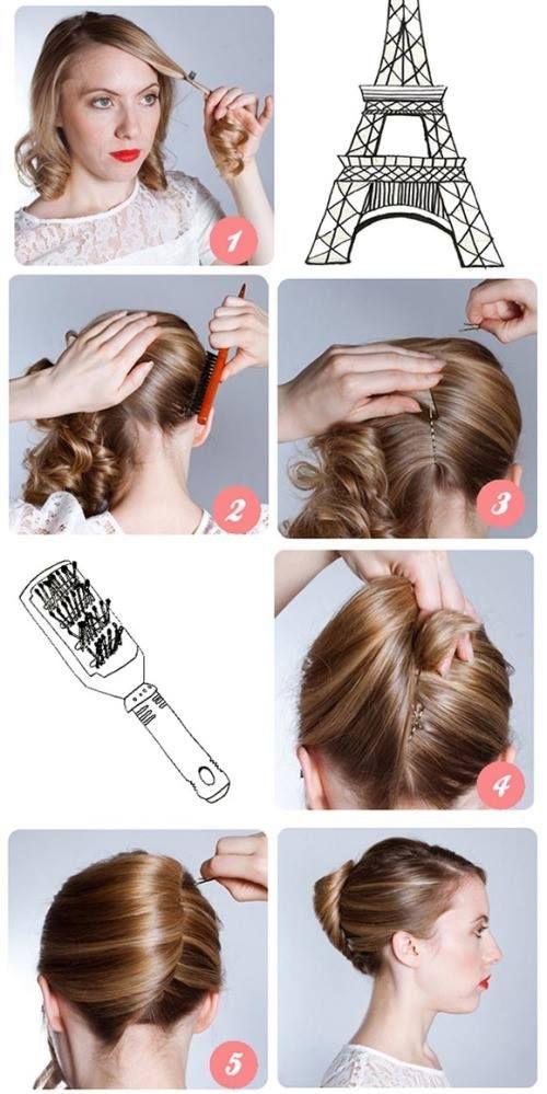 Укладка своими руками для дома волосы 189