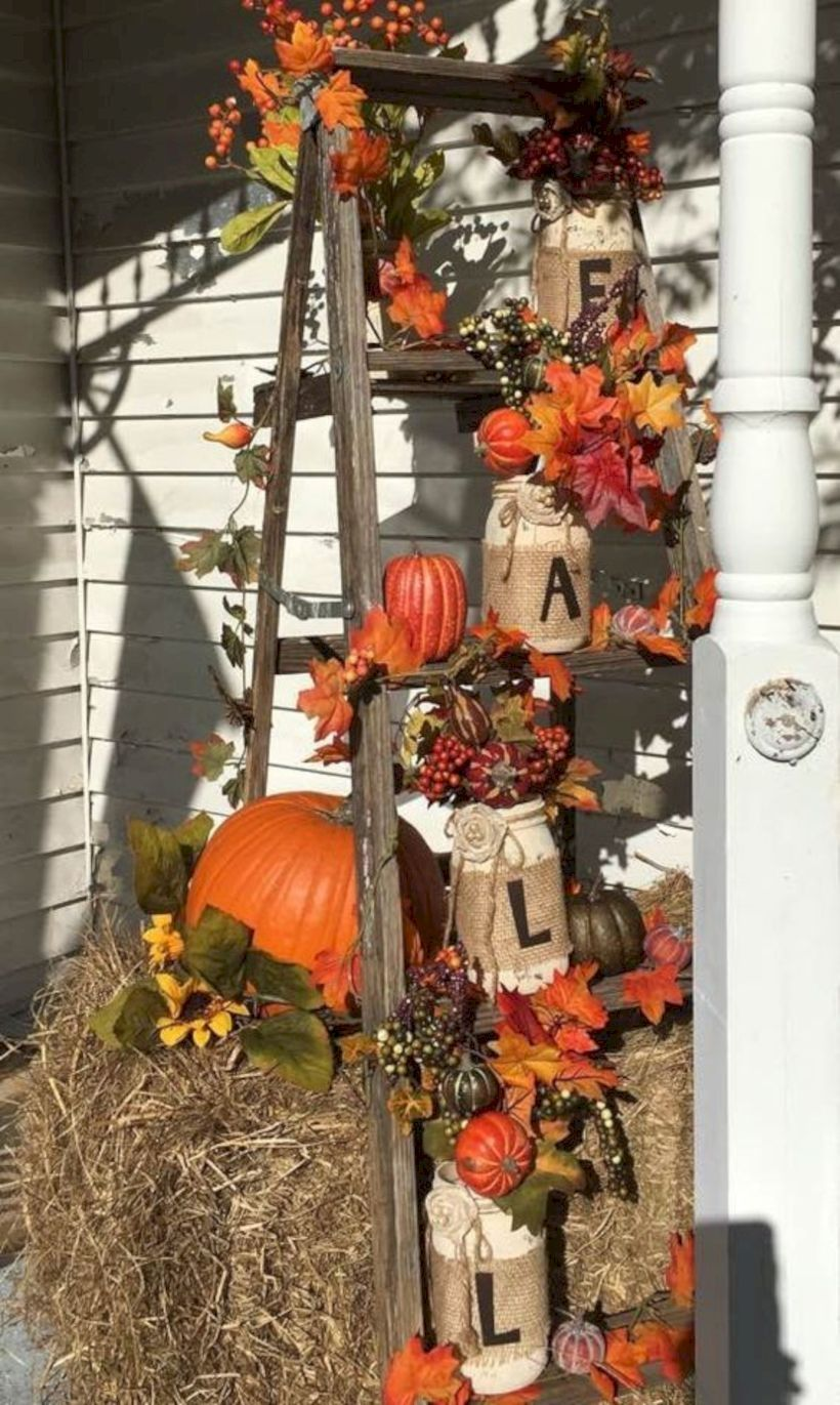 30 Easy Diy Fall Outdoor Decor To Your Inspire